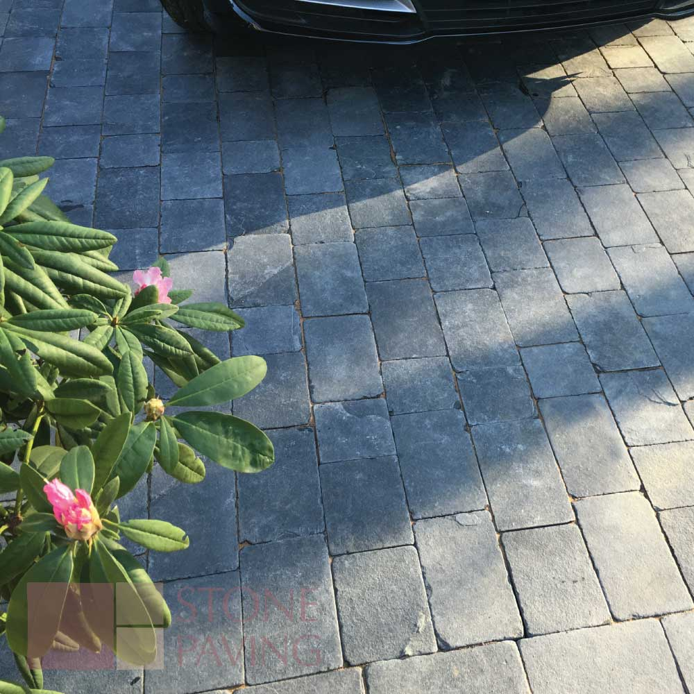 Natural Stone Paving Block-Paving-Carbon