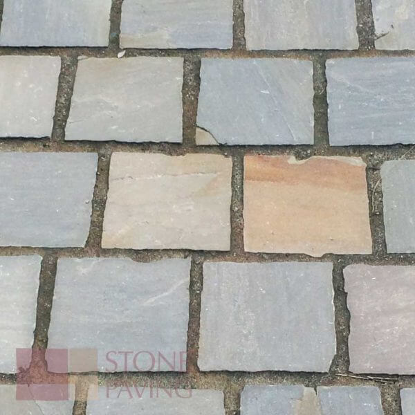 Natural Stone Paving Cobbles-Traditional-Umbra