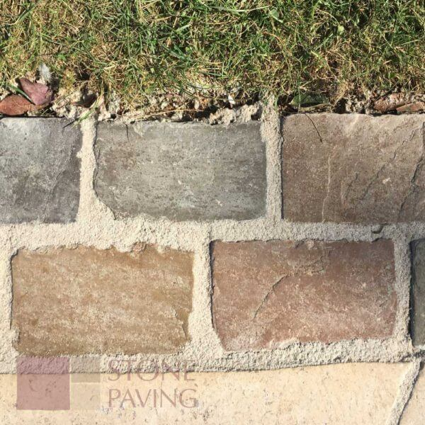 Natural Stone Paving Cobbles-Weathered-fernlea