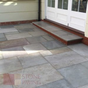 Natural Stone Paving Premier-Olive-Smooth