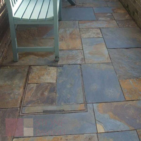Natural Stone Paving Premier-Rustic-Slate