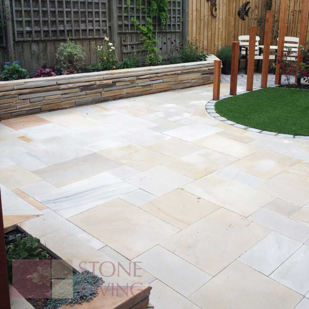 Natural Stone Paving Premier-Tallow-Smooth