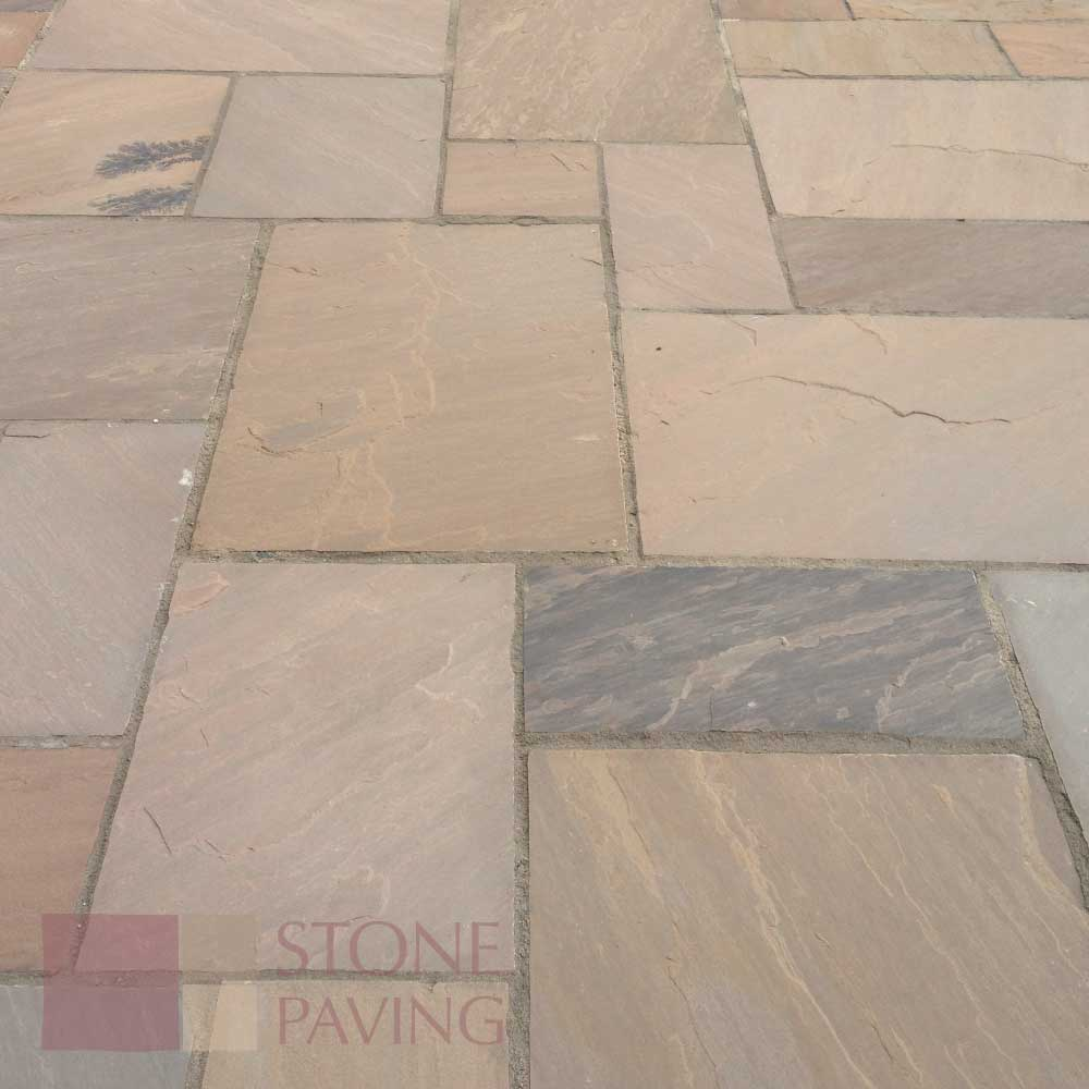 Natural Stone Paving Traditional-Autmn-Brown