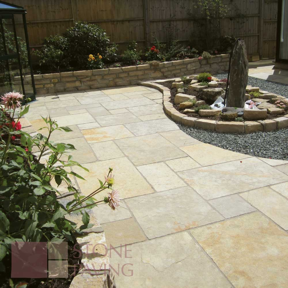 Natural Stone Paving Traditional-Citron