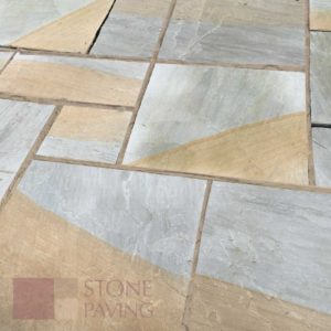 Natural Stone Paving Traditional-Mocha