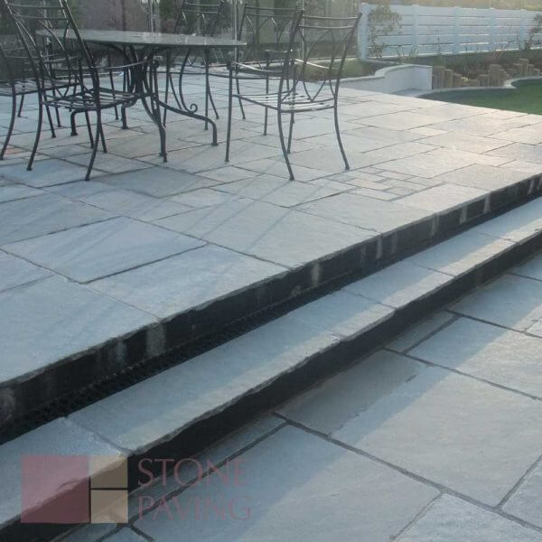Natural Stone Paving Weathered-Aqua