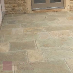 Natural Stone Paving Weathered-Citron