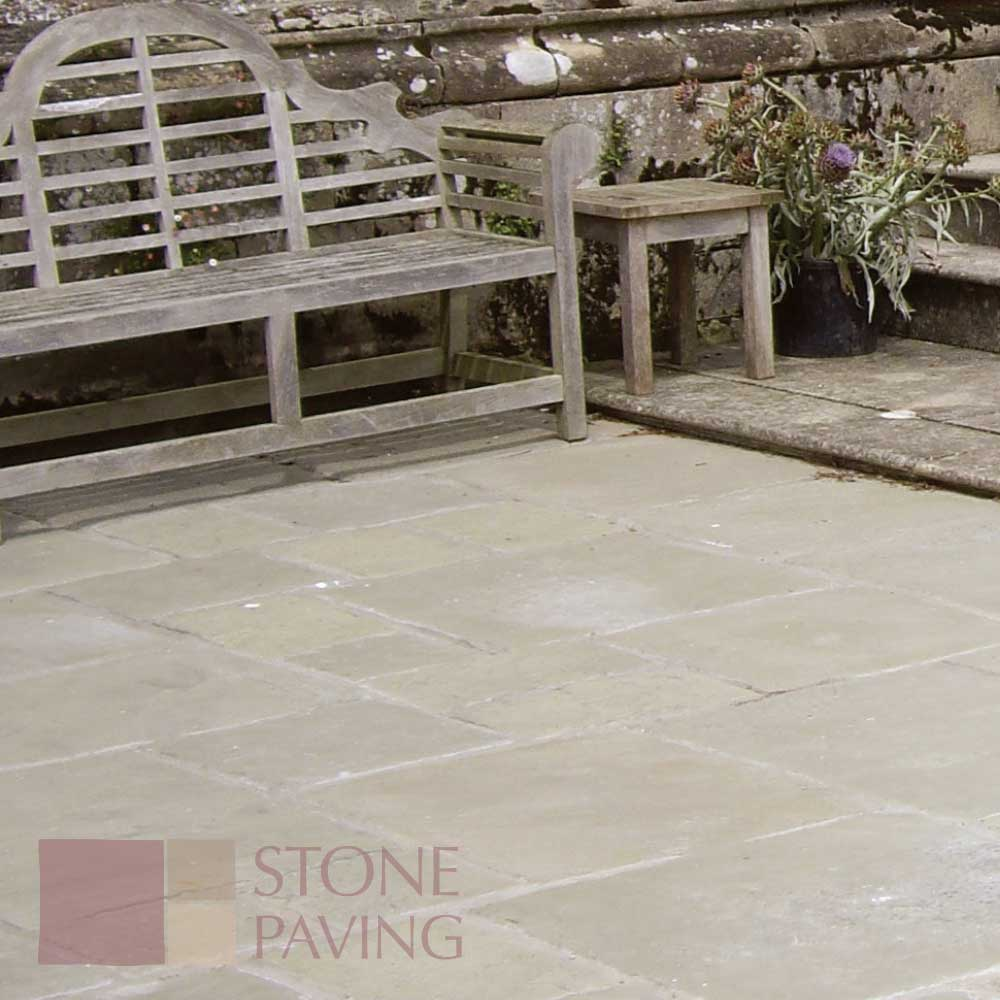 Natural Stone Paving Weathered-Fernlea