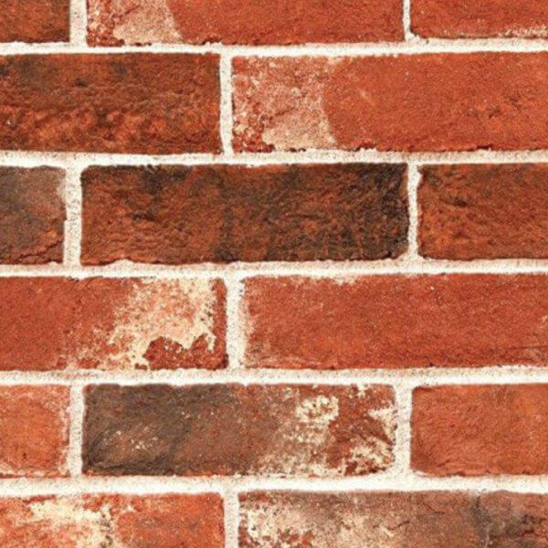 villa bricks weathered orange